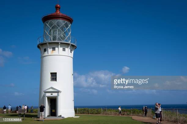 kilauea lighthouse - brycia james stock pictures, royalty-free photos & images