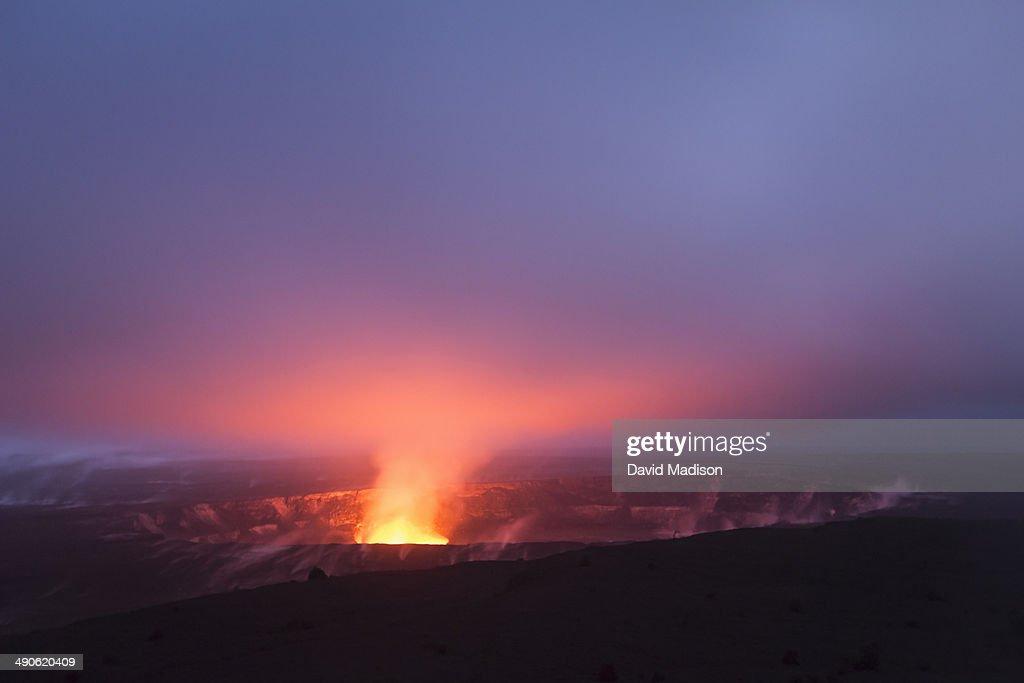 Kilauea Volcano, Volcanoes National Park. : Stock Photo