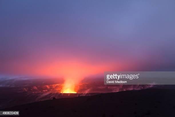 Kilauea Volcano, Volcanoes National Park.