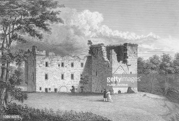 kilbirnie castle  ayr  scotland  from the north east