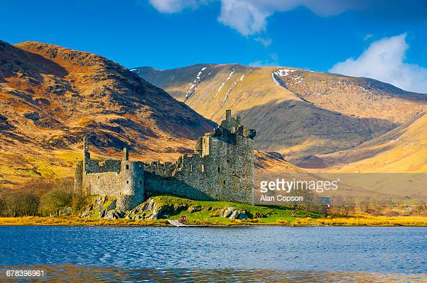 Kilchurn Castle, Loch Awe, Argyll and Bute, Scotland, United Kingdom, Europe