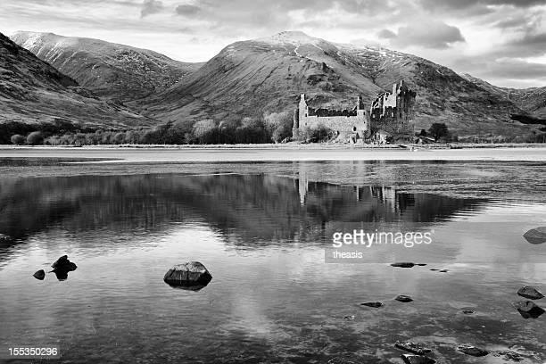 kilchurn castle, loch awe - theasis bildbanksfoton och bilder