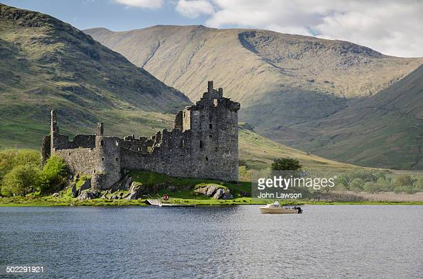 CONTENT] Kilchurn Castle viewed over Loch Awe Argyll and Bute Scotland