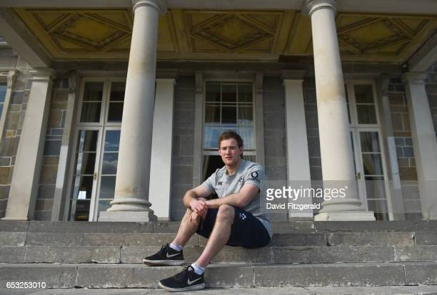 Kildare Ireland 14 March 2017 Kieran Marmion of Ireland poses for a portrait following a press conference at Carton House in Maynooth Co Kildare