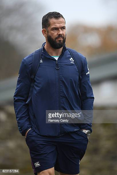 Kildare Ireland 14 November 2016 Ireland defence coach Andy Farrell during squad training at Carton House in Maynooth Co Kildare