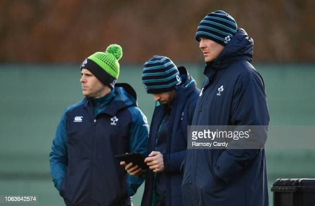 Kildare Ireland 20 November 2018 Peter O'Mahony during Ireland Rugby squad training at Carton House in Maynooth Co Kildare