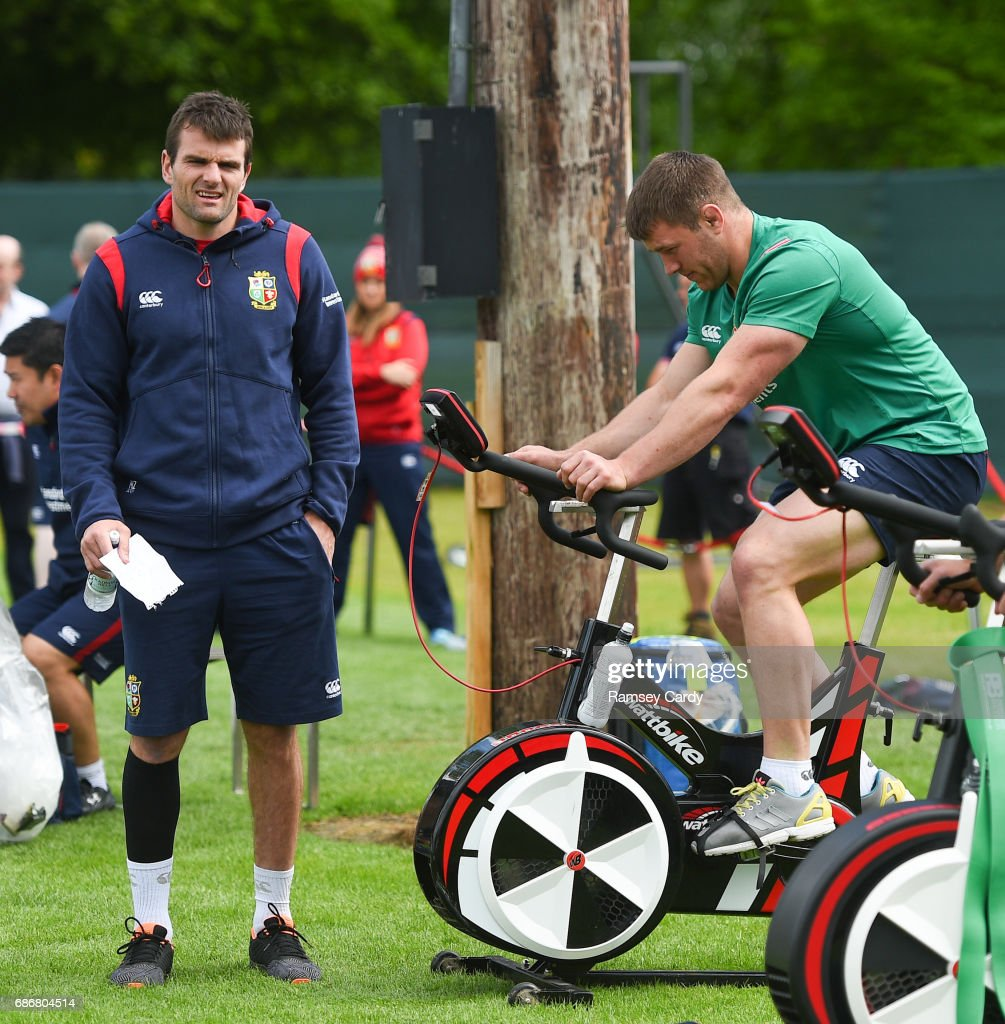 British and Irish Lions Squad Training and Press Conference