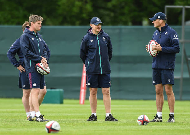 Ireland Rugby Squad Training and Press Conference Photos ...