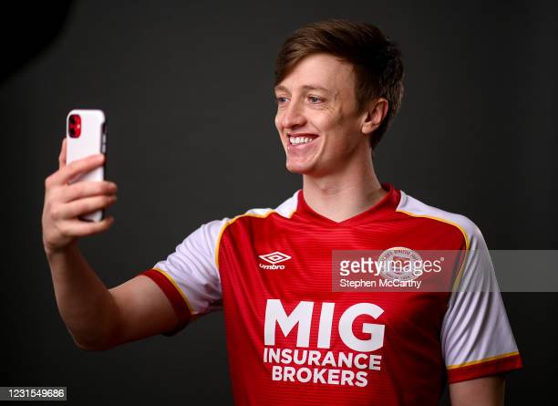 Kildare , Ireland - 5 March 2021; Chris Forrester during a St Patrick's Athletics portrait session ahead of the 2021 SSE Airtricity League Premier...