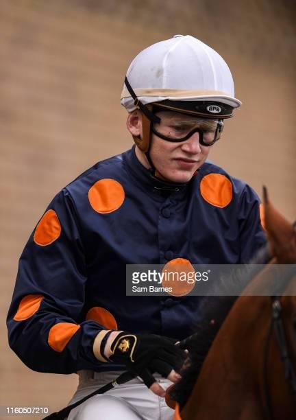 Kildare Ireland 9 August 2019 Jockey Gavin Ryan ahead of the TRM Equine Nutrition Handicap at The Curragh Racecourse in Kildare