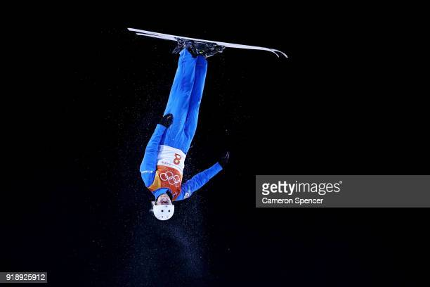 Kiley Mckinnon of the United States competes during the Freestyle Skiing Ladies' Aerials Final on day seven of the PyeongChang 2018 Winter Olympic...