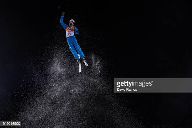 Kiley Mckinnon of the United States competes during the Freestyle Skiing Ladies' Aerials Final on day eight of the PyeongChang 2018 Winter Olympic...