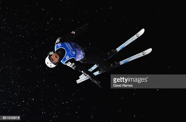 Kiley McKinnon of the United States competes during the Women's Aerials Final on day three of the FIS Freestyle Ski and Snowboard World Championships...