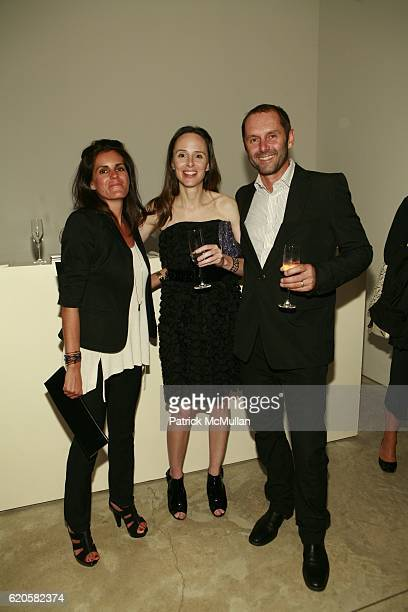 Kiliaen Murphy Kim Andreolli and Helmut Hutter attend LOUIS XIII Celebrates WALLPAPER'S Guest Editor LOUISE BOURGEOISE with HELMUT LANG at Cheim Reid...