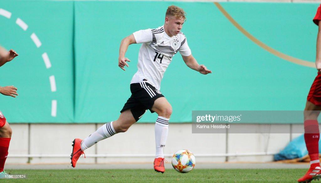 U20 Germany v U20 Czech Republic - International Friendly : News Photo