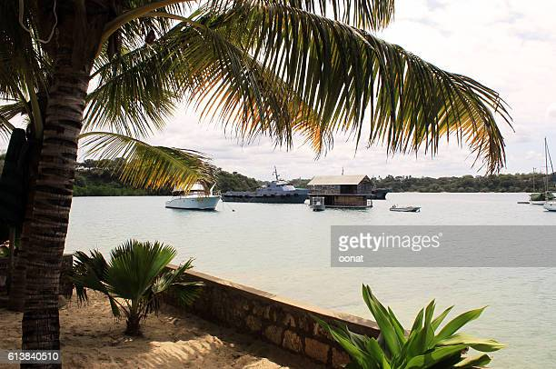 kilifi boatyard and harbour - mombasa stock photos and pictures
