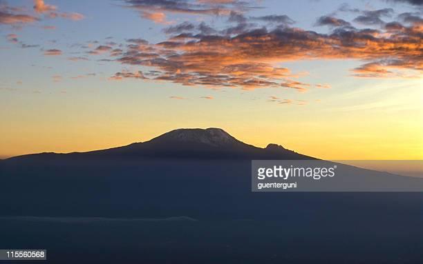 Kilimanjaro, Africas highest mountain at sunset (2)