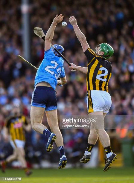 Kilkenny Ireland 11 May 2019 Paul Ryan of Dublin in action against Paul Murphy of Kilkenny during the Leinster GAA Hurling Senior Championship Round...