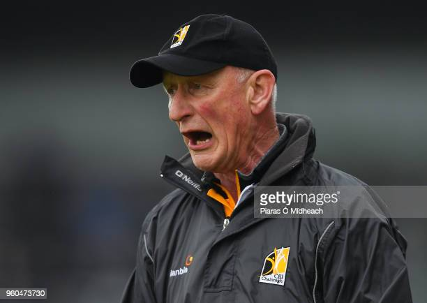 Kilkenny Ireland 20 May 2018 Kilkenny manager Brian Cody during the Leinster GAA Hurling Senior Championship Round 2 match between Kilkenny and...