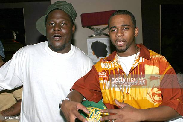 Killah Priest and Hell Razah during Frank 151 Magazine Issue Release Party at Frank's in New York City, New York, United States.