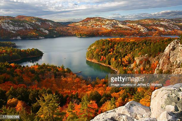 killarney lake - canada stock pictures, royalty-free photos & images