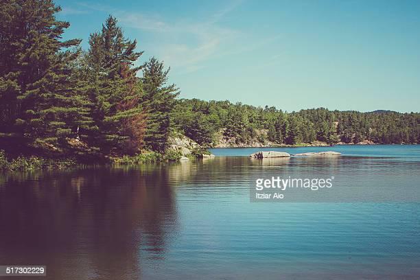 killarney provincial park - sudbury canada stock photos and pictures