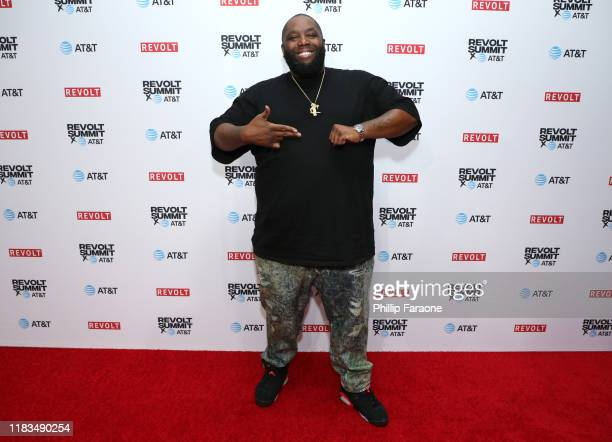 Killer Mike attends the REVOLT X ATT 3Day Summit In Los Angeles Day 1 at Magic Box on October 25 2019 in Los Angeles California