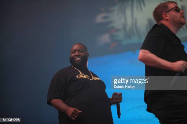 02 Killer Mike of Run the Jewels perform at Electric Picnic Festival at Stradbally Hall Estate on September 2 2017 in Laois Ireland