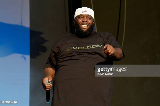 Killer Mike of Run The Jewels performs onstage during the Meadows Music And Arts Festival Day 1 at Citi Field on September 15 2017 in New York City