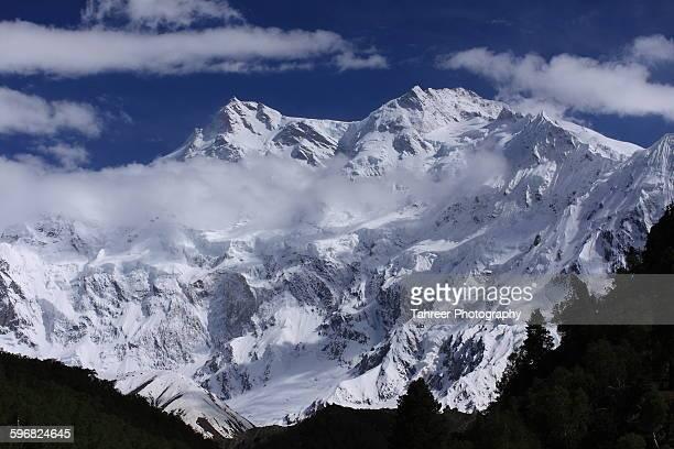 Killer Mountain Nanga Parbat in clouds