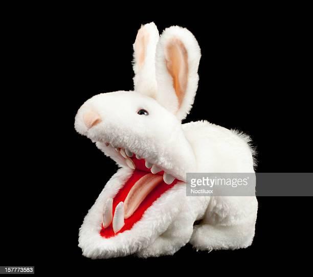 Killer rabbit from Monty Python's Holy Grail movie