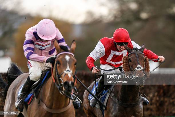 Killian Moore riding Kelvingrove clear the last to win The Dave Criddle Travel Bristol Airport Steeple Chase at Taunton racecourse on December 14...