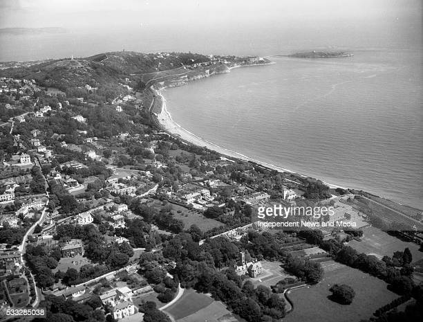 Killiney The slope of Killiney Hill south of Dublin and Dalkey Island off the coast 28/11/58 Photograph by Alexander Campbell 'Monkey' Morgan