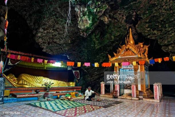 killing caves of phnom sampeau, battambang, cambodia - killing fields stock pictures, royalty-free photos & images