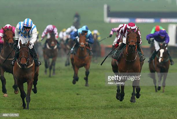 Killultagh Vic ridden by Luke Dempsey wins the Martin Pipe Conditional Jockeys' Handicap Hurdle during the Cheltenham Gold Cup day at the Cheltenham...