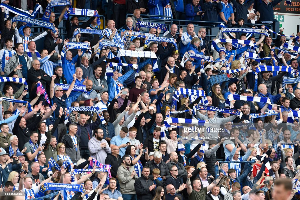 Kilmarnock v Rangers - Ladbrokes Scottish Premiership - Rugby Park : News Photo