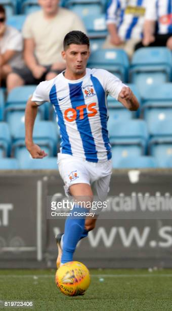 Kilmarnock's Jordan Jones during the Betfred League Cup game on July 18 2017 in Kilmarnock Scotland