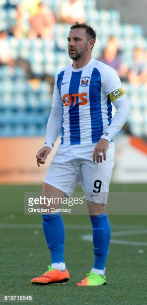 Kilmarnock's Kris Boyd during the Betfred League Cup game on July 18 2017 in Kilmarnock Scotland