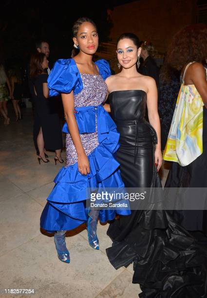 Kilo Kish and Alexa Demie attend the Fifth Annual InStyle Awards at The Getty Center on October 21 2019 in Los Angeles California