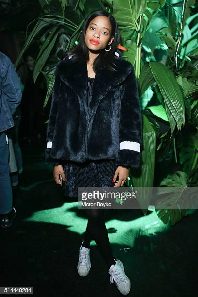 Kilo Kish attends Kenzo X Disney The Jungle Book Aftershow Party as part of Paris Fashion Week Womenswear Fall/Winter 2016/2017 at Les Etoiles on...