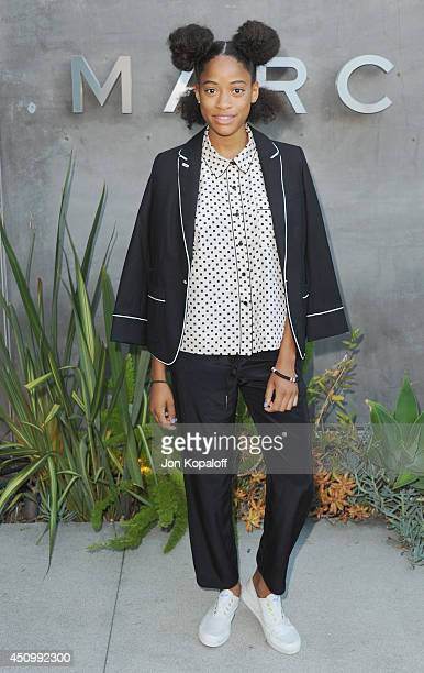 Kilo Kish attends Marc By Marc Jacobs Fall/Winter 2014 Preview at Marc Jacobs on June 20 2014 in Los Angeles California