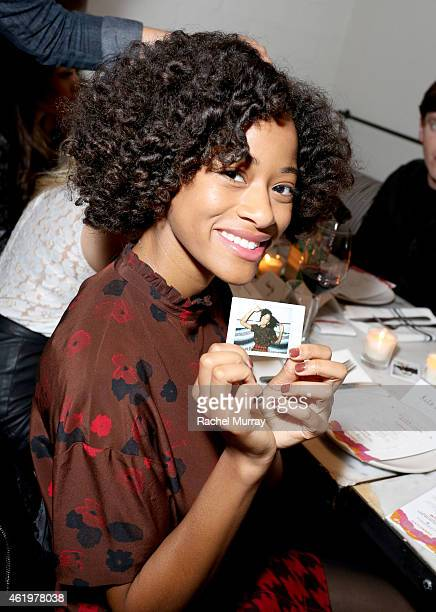 Kilo Kish attends NYLON Celebrates Anna Kendrick's February Cover at Gracias Madre on January 21 2015 in West Hollywood California