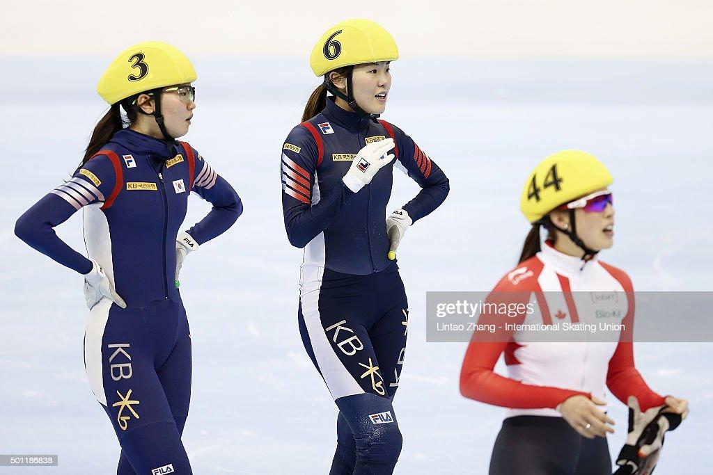 ISU World Cup Short Track Shanghai  - Day 2