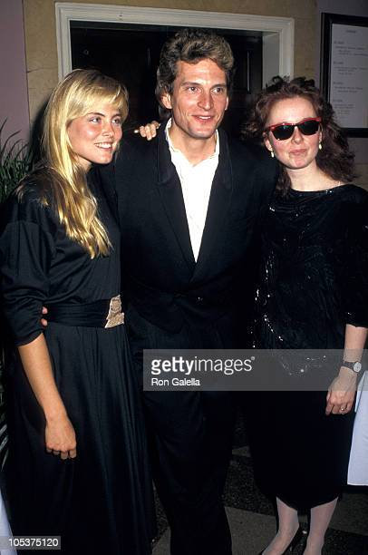Kim Alexis R Smith and Kate Burton during Annual Gourmet Gala May 11 1987 at Roundabout Theater in New York City New York United States