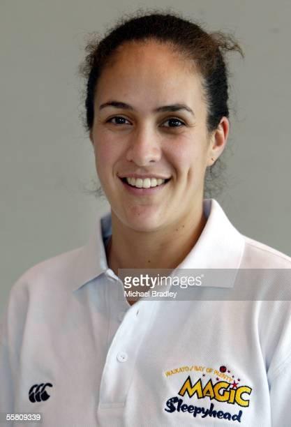 Kim Allison, Physio from the Waikato/BOP Magic netball team.