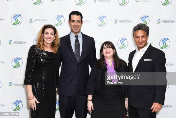 Kim Amzallag Carlos Gutierrez Jr Eliza de Sola Mendes and Marc Bennett attend American Friends Of Soroka 6th Annual Gala Benefit Dinner on May 1 2018...