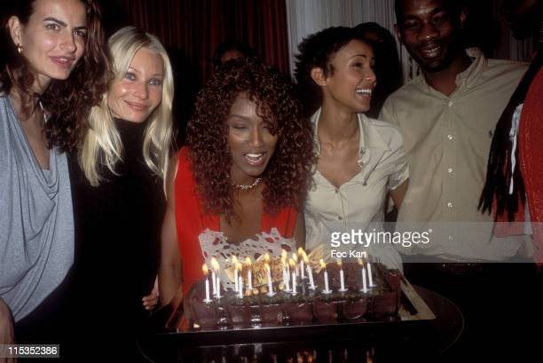 Kim and Irene from The Models with Katoucha Sonia Rolland and Passy