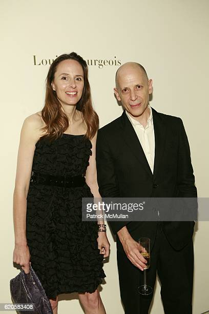 Kim Andreolli and Adrian Joffe attend LOUIS XIII Celebrates WALLPAPER'S Guest Editor LOUISE BOURGEOISE with HELMUT LANG at Cheim Reid and Glasshouses...