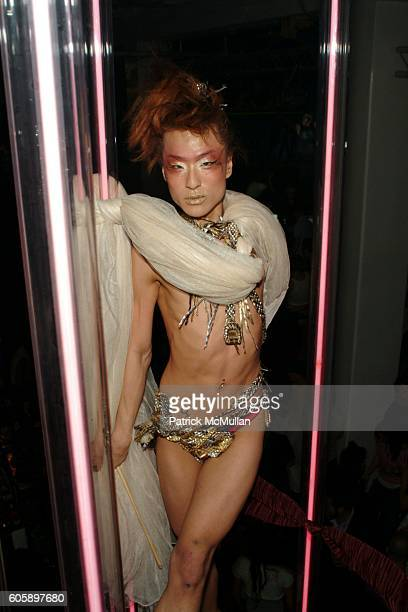 Kim Aviance attends AMANDA LEPORE DOLL After Party at Happy Valley on April 11 2006 in New York City