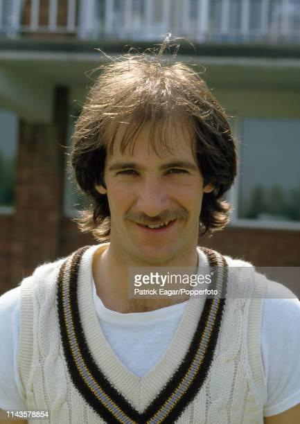 Kim Barnett of Derbyshire at Derby circa May 1984